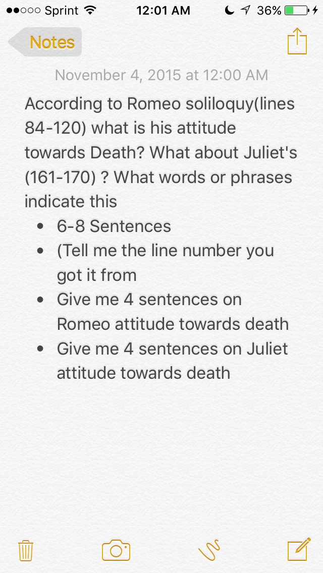 Romeo and juliet essay prompts