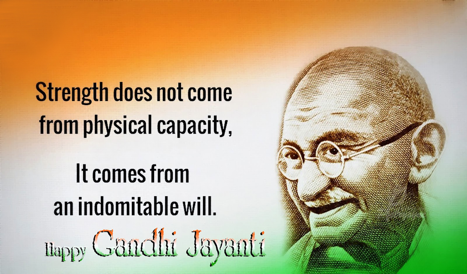 the impact of the mahatma gandhi Kasturba gandhi, the wife of mohandas karamchand gandhi known as mahatma gandhi, has not been studied much in works on gandhi there are.
