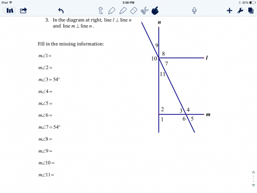 Help maths homework angles